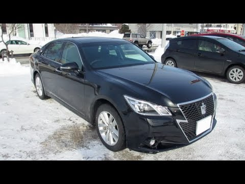 2012 New TOYOTA CROWN Athlete Exterior & Interior