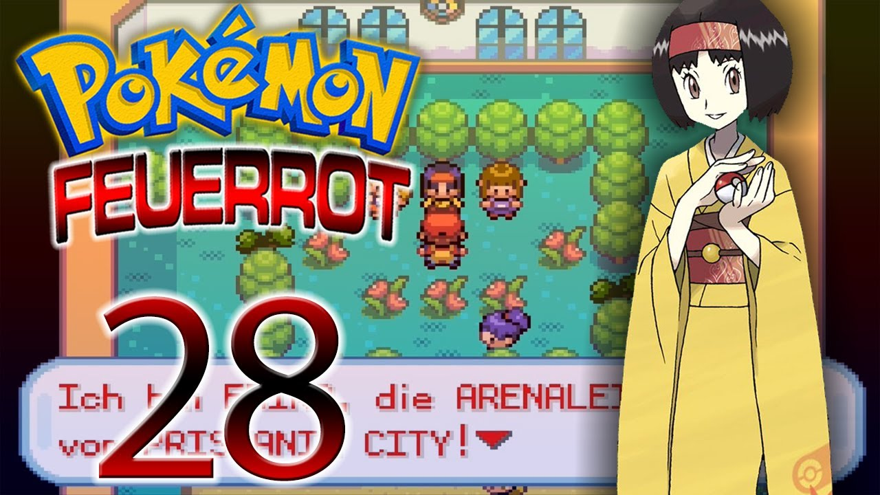 pokemon feuerrot let 39 s play together pokemon feuerrot part 28 youtube. Black Bedroom Furniture Sets. Home Design Ideas