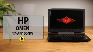 Laptop HP Omen 17-AN100NW (4TY02EA) I5-8300H 8GB 1000GB GF-GTX1050 W10