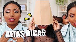 COMO NÃO SUJAR A ROUPA DE MAQUIAGEM Camila Nunes