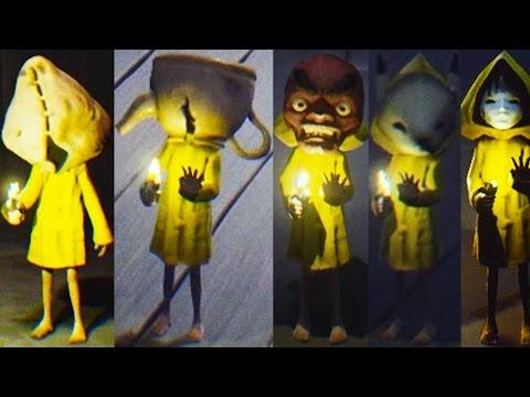 Little Nightmares All Masks (Little Nightmares Bonus Content)
