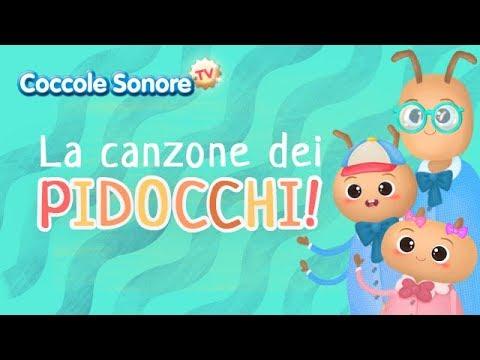La canzone dei pidocchi + altre canzoni - Canzoni per bambini di Coccole Sonore