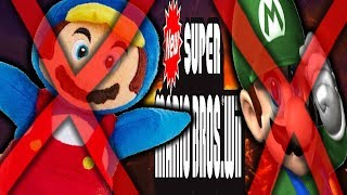 CAN YOU BEAT NEW SUPER MARIO BROS WII WITHOUT POWERUPS?!?!?!?! (literally impossible)