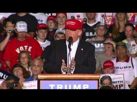 Trump: Final Push Ahead Of Tuesday's 5 Contests