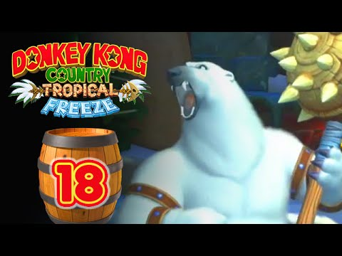Donkey Kong Country : Tropical Freeze #18 - L'Ours-Boss !