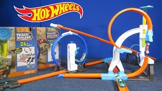 Hot Wheels Track Builder System Stunt Kit, Starter Kit and Loop Launcher #Ad