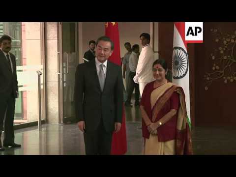 Chinese FM Wang Yi arrives in India for talks with counterpart Swaraj
