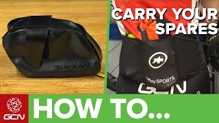 How To Carry Your Cycling Spares
