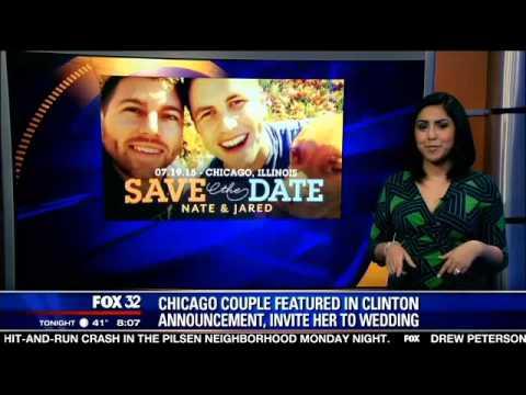 Local gay couple invites Hillary Clinton to wedding