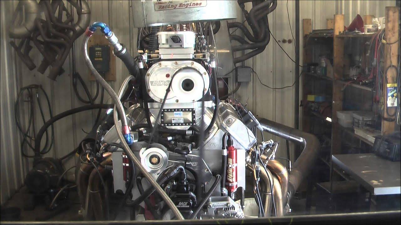565 Blown Alcohol Engine Dyno by Prodigy Engine Development - YouTube