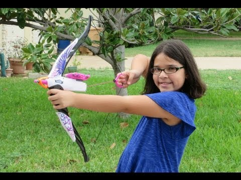 Nerf Heartbreaker Bow Review- Top Christmas Toy 2013   EpicReviewGuys CC