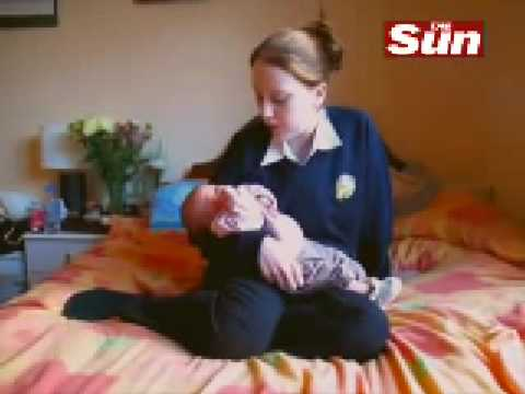13 YEAR OLD BRITISH BOY BECOMES FATHER!! Video
