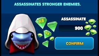 Hungry Shark Evolution - *UNLOCKING ASSASSINSHARK!!!* - + FULL GAMEPLAY *NEW UPDATE*