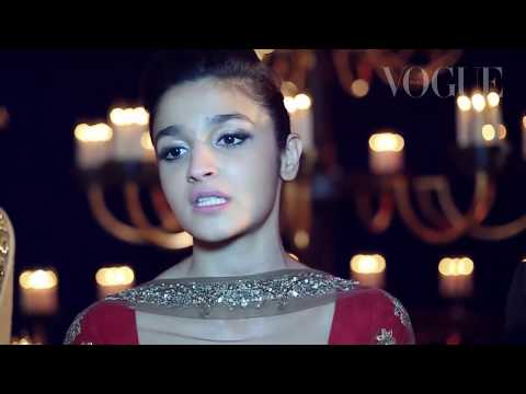 Backstage with Alia Bhatt & Manish Malhotra - India Couture Week '14 | VOGUE India