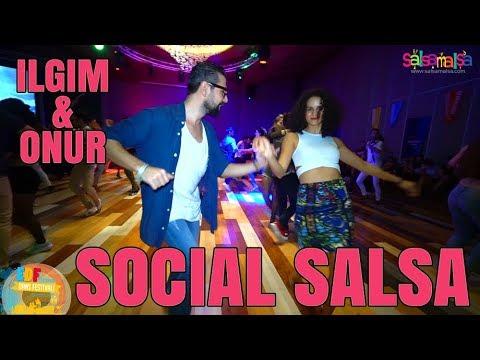 Social Dance Salsa | Ilgım - Onur | EDF-2018