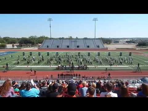 Burleson High School Marching Band UIL 2014