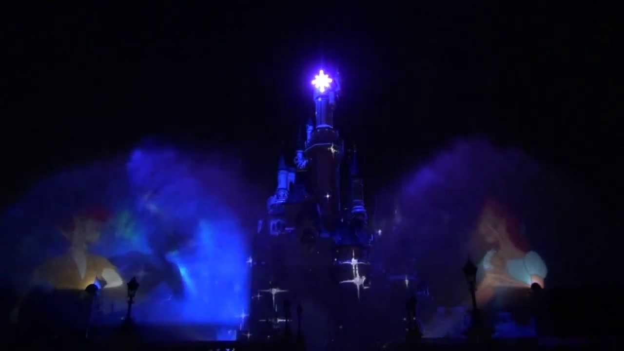 Disneyland Paris at Night Night Show Disneyland