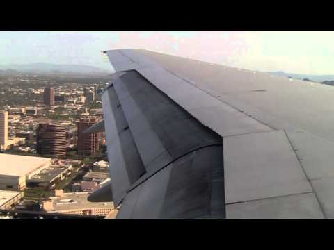 Delta 757-200 Landing at Phoeinx Sky Harbor International