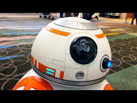BB-8 Real Droid - Star Wars Celebration