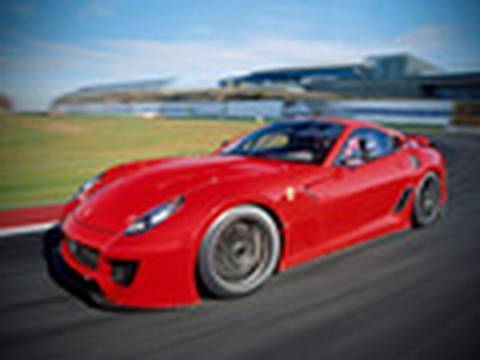 Ferrari 599XX driven by autocar.co.uk