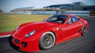 Ferrari 599XX driven by autocar.co.uk