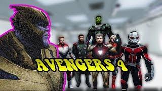 GTA 5 - Avengers hồi kết - Biệt đội siêu anh hùng | GHTG
