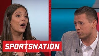 The Miz goes after Katie Nolan, LZ Granderson on calling LeBron a point guard | SportsNation | ESPN