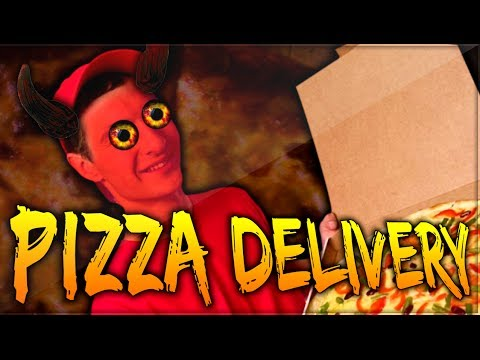 media pizza delivery horror game