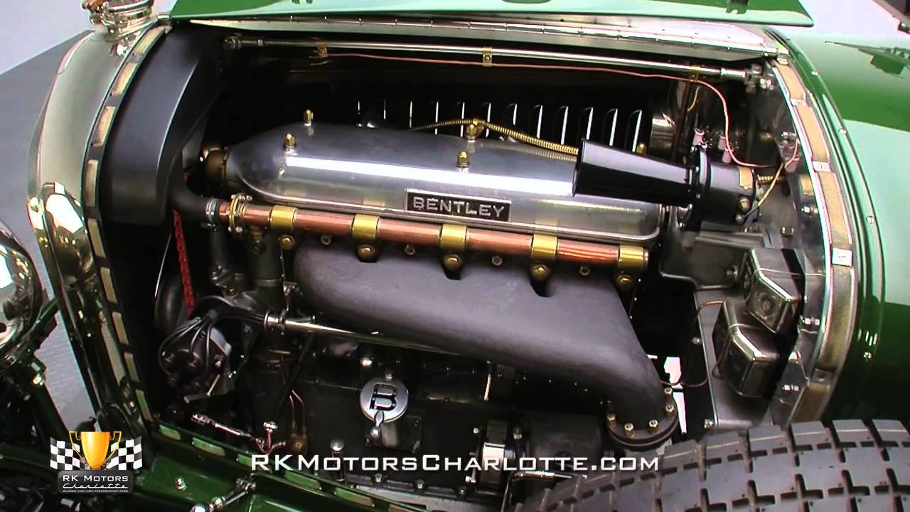 134148 1928 Bentley 4 1 2 Litre Semi Le Mans Sports