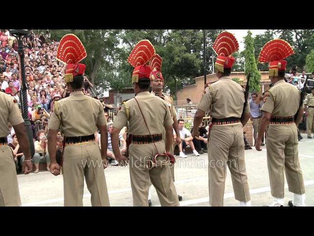 It's India's BSF vs Pakistan Rangers at Wagah Border
