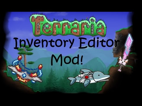 Terraria: Inventory Editor Mod | Spawn in anything! [1.3][PC]