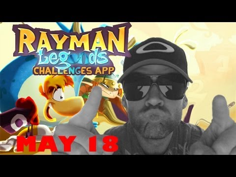 RAYMAN Legend Wii U APP daily Challenge - MAY 18 - SCREAM LIKE LITTLE GIRL