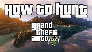 """How To Hunt Animals in GTA V!"" ""Hunting Gameplay!"""