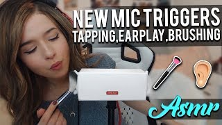 ASMR TRIGGER TEST ON NEW MIC - 3DIO LOOK ALIKE?!?