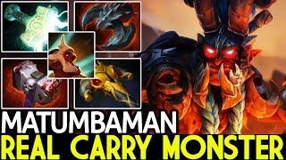 Matumbaman [Troll Warlord] Real Carry Monster TryHard against Zai Sven 7.22 Dota 2