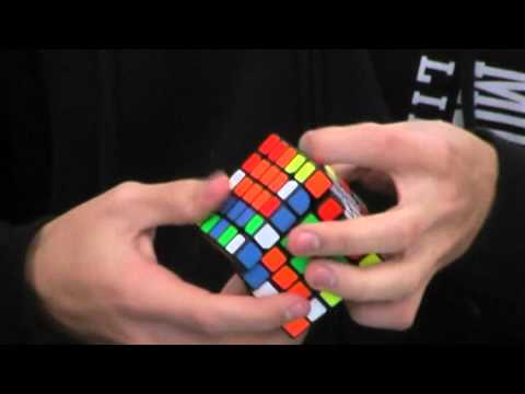 5x5 former Rubik's cube world record; 51.09 seconds