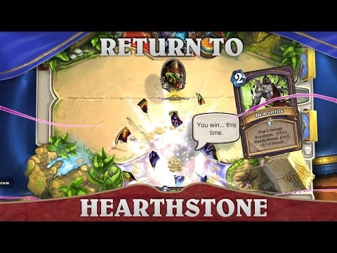 Hearthstone - Glorious Return to Battle!