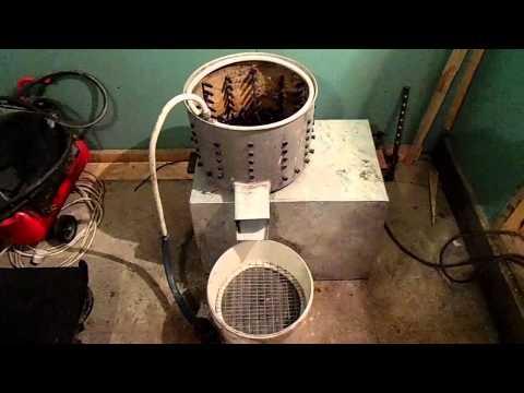 Перосъемная машина из стиральной машины сибирь