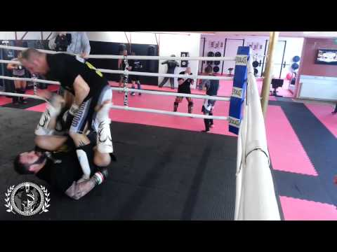 Alessio Sakara: Training in Austria - Sparring