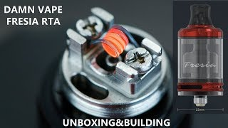 Damn Vape Fresia RTA | Independent Airflow System for MTL and DL