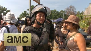 (SPOILERS) Making of Episode 410: The Walking Dead: Inmates