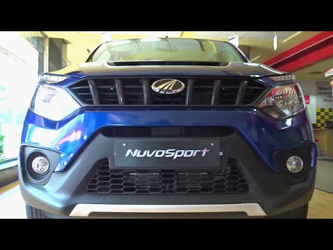 #Cars@Dinos: Mahindra NuvoSport First Drive Review. Walkaround (Red & Blue)