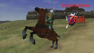 Legend of Zelda Ocarina of Time: Getting Epona