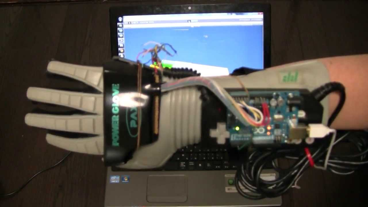 Pax power glove for nes mpu arduino uno unity