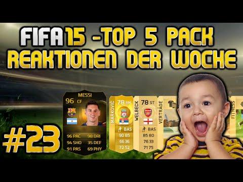 FIFA 15 Top 5 Pack Reaktionen der Woche #23 Deutsch