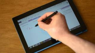 Surface Pro Handwriting Recognition Demo