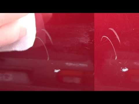Review of Scratch Away Car Detail Scratch Remover Test