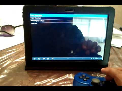 PS3 Sixaxis Controller on Samsung Galaxy Tab 10.1