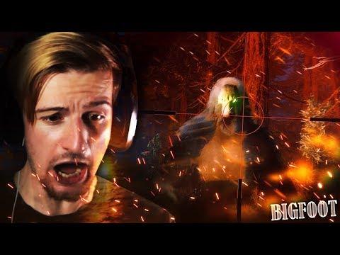 BIGFOOT RAN STRAIGHT AT ME!!    Finding Bigfoot 2.0 (MULTIPLAYER) thumbnail