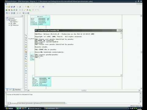 PowerDesigner conexion directa a la base de datos